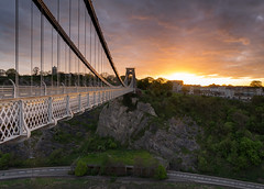 A Very Good Morning (Paul C Stokes) Tags: clifton suspension bridge cliftonsuspensionbridge bristol uk united kingdon river avon gorge sony a7r zeiss 1635 lee filter 9 morning outdoor sunrise isambardkingdombrunel brunel isambard kingdom