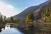 Phandar lake, Ghizar Valley @ Gilgit - Pakistan (LubnaJavaid) Tags: phandar lake ghizar valley gilgit hunza nagar pakistan green blue yellow autumn sky water shodow