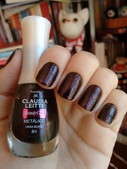 Vera Boate - Beauty Color (Mari Hotz) Tags: esmalte unha beautycolor preto perolado