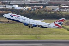 British Airways Boeing 747-400 G-CIVX (atcogl - ATC @ YYZ) Tags: yyz cyyz toronto ontario canada pearson lbpia aircraft airliner airplane aeroplane plane jet heavy widebody jumbo aviation avion flugzeug canon eos 5dmarkiv 100400f4556lismarkii oneworld ba baw speedbird britishairways boeing 747 747400 b744 gcivx takeoff