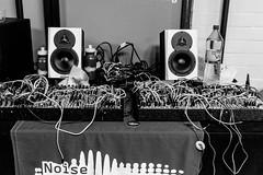 DSCF9189 (Seb v. Preussen) Tags: superbooth sooperbooth 2017 superbooth2017 berlin fez wuhlheide synthesizer schneidersladen modular doepfer blackandwhite blackwhite monochrome messe fujifilm fuji xe2 fujifilmxe2 xf27mm xf27mmmf28 27mmf28