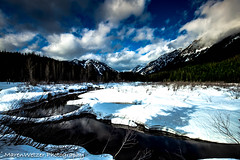So Close to Heaven (maren.wetzer) Tags: heaven clouds snow spring winter sun mountains creek summit cascades washigton usa travel wideangle nature landscape blue water canon eos 6d 1635mm
