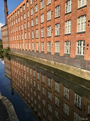 Reflection - canals of Leicester (Nina_Ali) Tags: reflection spring 2017 leicester canals building riversoar iphonephotography