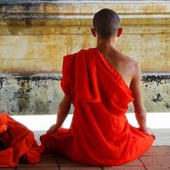 Kandy, Sri Lanka - February 2017 (Keith.William.Rapley) Tags: keithwilliamrapley rapley kandysrilanka february2017 2017 february buddhist buddhistmonk prayer contemplation meditation buddhism orange orangetunic