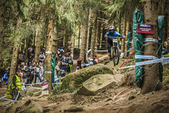 lb (phunkt.com™) Tags: uni mtb mountain bike dh downhill down hill world cup lourdes 2017 phunkt phunktcom keith valentine race set amazing great fantastic photos uci shimano by final lourdesvtt france