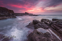 Tantallon Castle (Calum Gladstone) Tags: scotland tantallon castle seascape sunset wet feet leefilters canon6d