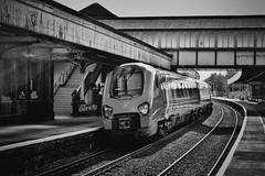 Wishful Thinking (whosoever2) Tags: unitedkingdom uk gb greatbritain nikon d7100 may 2017 railway railroad train colwynbay wales virgin voyager class221 221117 1a23 station dmu
