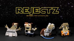 REJECTZ Series 3 - Star Wars (A New Hope) (Ochre Jelly) Tags: lego moc afol star wars starwars leia han r2d3 c3po boiwan kenobi scifi vader yoda