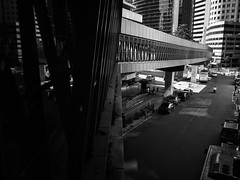 356/365 black and white street (De Style) Tags: ricoh gxr a12 28mm f25 black white street photography city life klcc ampang road kuala lumpur perspective light shadow building