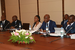 Séance de travail entre les délégations ghanéenne et togolaise (PresidenceTg) Tags: presidencetg tginfo prtg cina lawson robert dussey