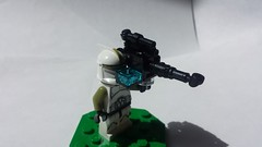 PLX-2M Missile Tube (FirstInfantry) Tags: lego starwars missile rocket clone brickarms