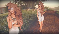 Dandelion in the Spring (Cara Olivieri) Tags: lelutka glamaffair riot bloom essenz theseasonsstory besom redgrave empyreanforge fameshed meva shinyshabby fashiowl