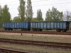 Lodz Zabieniec 5.05.2017 010 (Groch1) Tags: stacja łódźżabieniec lodzzabieniec pkp cargo pkpcargo wagon węglarka eaos