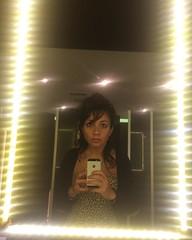 h.ardf.acet.o (d.esencantada) Tags: toilet hair messy espelho mirror dress vestido oncinha onça girl animalprint selfie instagramapp square squareformat iphoneography
