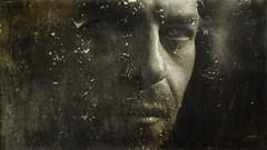 Last Of Us. (Gr⊙f: ⊙f the p⊙p) Tags: tears window portrait self artistcom theartistclub thegreatimage thedarksideofthelight