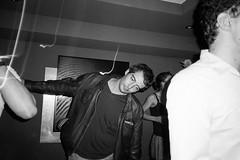 LadanseTriste (M.B') Tags: club alcool triste night hp51600 nightlife bw noirblanc gr1v ricoh dance danse alcohol boîte de nuit film argentique analogue noir et blanc