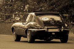 E Type (Mostly offline until 6th of June) Tags: sepia jaguar auto car oldtimer etype
