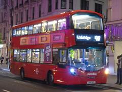 Hybrid N207 Again... (ultradude973) Tags: metroline west limited volvo b5lh wright wrightbus gemini 3 mk2 vwh2168 lk 16 lk16 dfe lk16dfe n207 uxbridge holborn night bus rare working