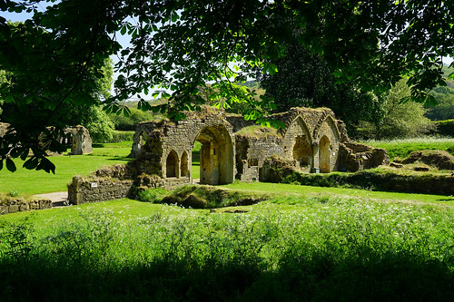 The ruins of Hailes Abbey
