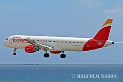 A321 EC-JEJ IBERIA EXPRESS (shanairpic) Tags: jetairliner lanzarote arrecife a321 airbusa321 iberiaexpress ecjej