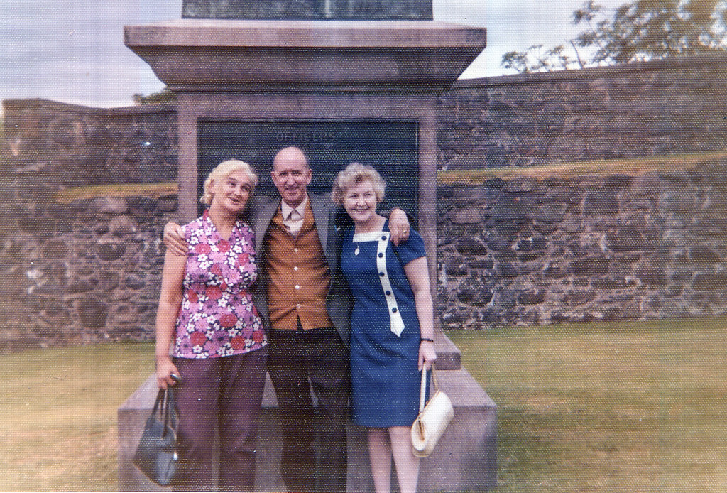 Grace with Robert and May Morgan 1970s
