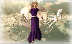 The Princess in you (Moni Carissa) Tags: fitmeshdesignerexpose moonstar purple gown maitreya shoes bangles beads skin 7deadlyskins shapes nove noor lelutka