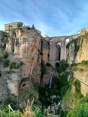Ronda, Andalusia, Espana (EricaFaini) Tags: andalusia espana spain spagna landscapes nature rock bridge water waterfall europe mist sky sea mediterraneum