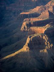 along Bright Angel Canyon, Sumner Butte, Hattan Butte (koebla) Tags: landscape southwest sunset desert canyon grandcanyonvillage az