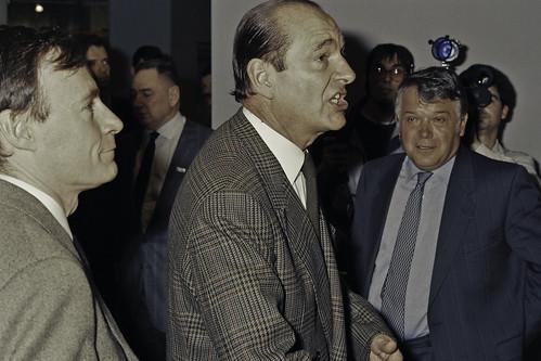 Mr JACQUES CHIRAC au SIA 1990-59-cliche Jean Weber