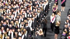 singing at grad (carole with an e) Tags: alexahenderson alexapaigehenderson clemsonuniversity calhounhonorscollege may12 graduation college university kropscot summacumlaude honors microbiology bs degree