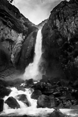 15042017-_DSC0277 (Juan C. Ramon) Tags: landscape yosemite anseladams blackwhite nature bw waterfall