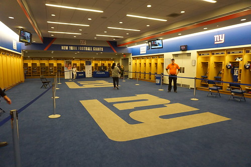 Inside the NY Giants locker room