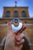 Cuando Me Miras (When You Look at Me) (Dibus y Deabus) Tags: universidadlaboral gijon asturias españa spain edificio building canon 6d tamron desenfoque blur esfera sphere reflejo reflection