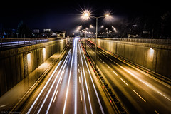 Speed (Anthony P26) Tags: art category eskisehir experimental lighttrails nightscenes places turkey longexposure light trails road highway underpass streetlights streetlamps traffic canon canon550d canon1585mm outdoor night nighttime black dark darkness evening