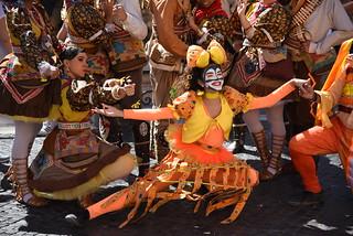 Roma - Folclore brasiliano in piazza Navona