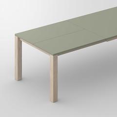 HR_N_T_VARIUS-SP-LINO_2.4_B8x8D_160x100x75_EIRO_B_SP1-100lino_4183_0_cam1.jpg (vitamin design) Tags: tisch table vitamindesign solidwood furniture moebel massivholz extendable butterfly auszugtisch varius lino linoleum linoleumtop