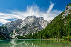 Lago di Braies, Dolomites (Robert J Heath) Tags: dobbiaco sancandido altoadige alps landscape summer rocky summit ridge toblach innichen