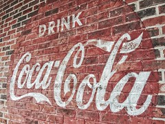 I have a drinking problem (Pejasar) Tags: coke sign building cocacola advertisement