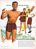 Jantzen has the plaids, 1955 ad (Tom Simpson) Tags: jantzen swimwear swimsuit plaid vintage ad ads advertising advertisement vintagead vintageads fashion 1950sfashion 1950s man men menswear mensfashion
