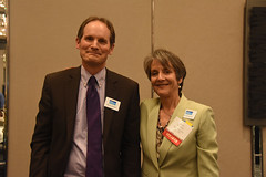 Barry Vesser, Duputy Director and Ann Hancock, Executive Director, Center for Climate Protection