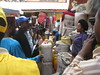 Promoting a campaign in a market (CDC Global Health) Tags: polio poliocampaigns immunization poliocampaignsinafrica africa