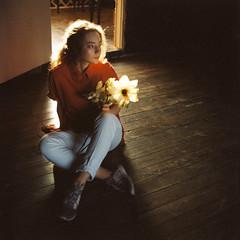 seledka_03 (newmandrew_online) Tags: filmisnotdead film filmphotografy film120 сф пленка 6x6 minsk belarus girl portrait portra kodak red