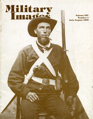 Military Images magazine cover, July/August 1992 (militaryimages) Tags: militaryimages magazine findingaid archive backissue photography history civilwar mexicanwar spanishamericanwar worldwari indianwar soldier sailor military us america american unitedstates veteran infantry cavalry artillery heavyartillery navy marine union confederate yankee rebel roach matcher neville coddington mi citizensoldier uniform weapon photographer tintype ambrotype cartedevisite stereoview albumen daguerreotype hardplate ruby