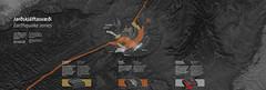 Earthquake belts (Gagarin Interactive) Tags: lavacentre eruptions gagarin basalt interactive exhibiton iceland hvolsvollur volcanic monitoring fissure caldera