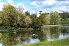 The lake at Stowe Landscape Gardens, Buckingham (Baz Richardson (trying to catch up again!)) Tags: buckinghamshire stowelandscapegardens lakes temples 18thcenturybuildings nationaltrust trees