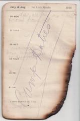 26 Jul - 1 Aug 1915 (wheresshelly) Tags: ww1 wwi world war 1 australia gallipoli egypt military australian 4th field ambulance anzac morton wilfred