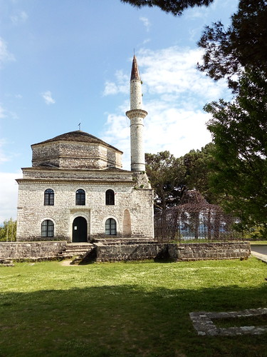 The mosque and grave of Ali Pasha