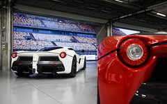 All White. (Alex Penfold) Tags: ferrari laferrari supercars supercar super car cars autos alex penfold 2016 china shanghai white