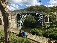 Ironbridge [1] (Rynglieder) Tags: england shropshire ironbridge bridge unesco gorge river severn