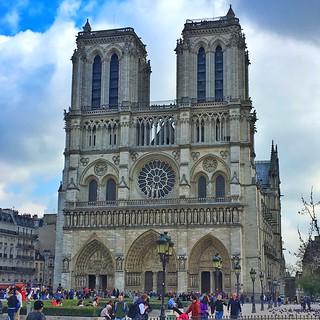 Paris  France ~ Notre-Dame de Paris ~ Notre-Dame Cathedral